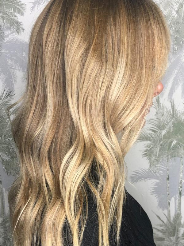 blond fondu , ideal pour les bases claires , les yeux claire , apporte lumière et douceur